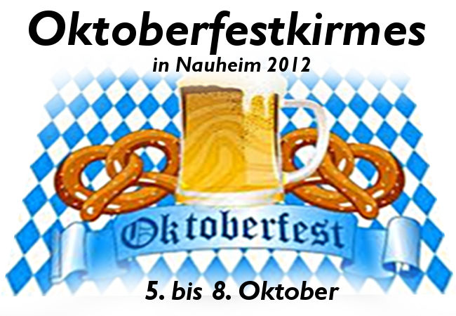 Oktoberfestkirmes in Nauheim 2012